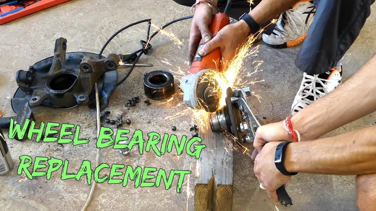 How To Replace Front Wheel Bearing Without Press Youtube - How To Install A Front Door