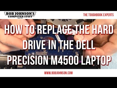 How To Replace The Hard Drive In The Dell Precision M4500 Laptop
