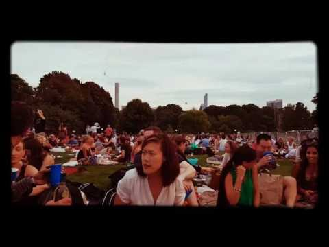 New York Philharmonic Orchestra in Central Park