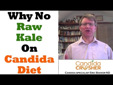Candida Diet: Why Eating Raw Kale Is Not A Good Idea!
