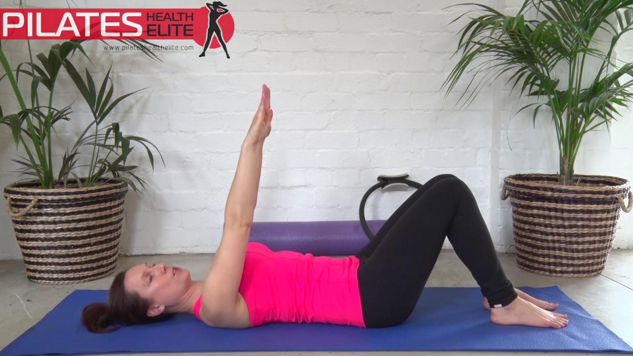 Pilates core basics workout: beginner   10 min solution lara.