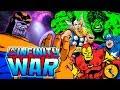 AVENGERS: Infinity War Trailer 90s Animated Version