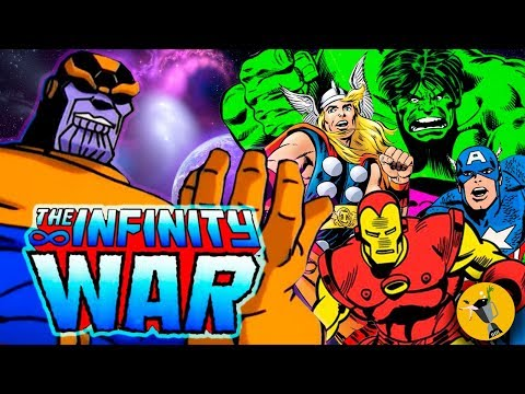 AVENGERS: Infinity War Trailer 90s...