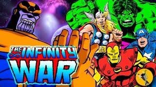 AVENGERS: Infinity-Krieg-Trailer der 90er Jahre Animierte Version