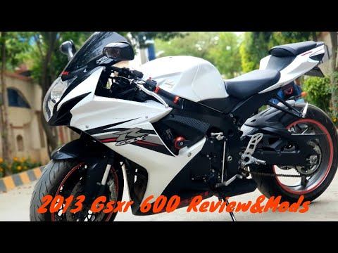 My 2013 (Gsxr 600) Review Specs And Mods