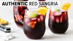 SANGRIA RECIPE | easy authentic red sangria