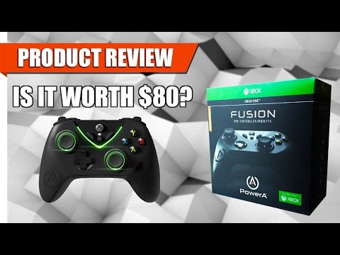 Product Review: Power A Fusion Pro Controller | XBox One | Is it ...