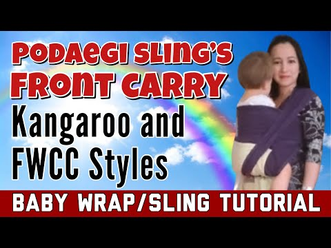Front Torso Carry Front Carry Podaegi Kangaroo