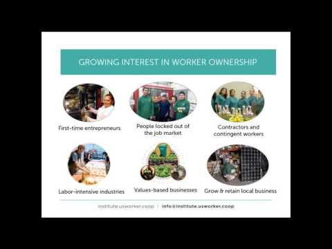 Webinar: Poverty Alleviation and Systems Change with Worker Cooperatives