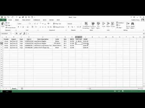 Excel Ex 5- Purchase Order
