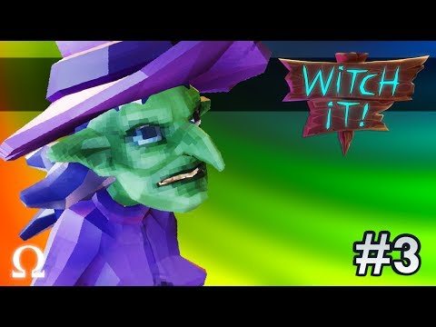 WORLD'S BIGGEST CHEESE! | Witch It #3 Funny Moments Ft. Delirious, Bryce, Gorilla