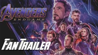 Avengers Endgame Fan Trailer (Once Upon a Time in Hollywood Style)