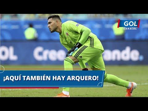 ¡Colombia también tiene arquero! Atajadón de Álvaro Montero en la única llegada de Venezuela