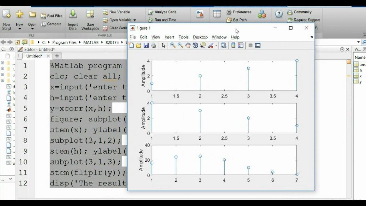 Correlation Matlab Code