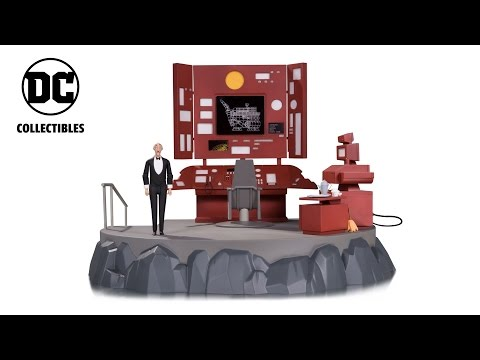 DC Collectibles - Batman: The Animated Series Batcave Vignette with Alfred