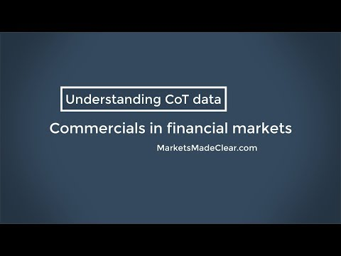 Commercials Traders - A Look At How Commercial Traders Behave In Financial Markets