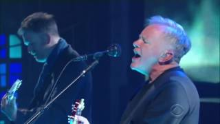 New Order - Singularity on Stephen Colbert