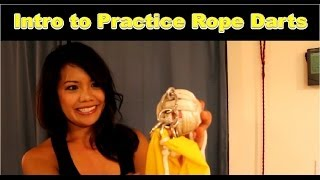 Intro To My Monkey's Fists / Practice Rope Darts (part 1 Of 4)