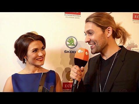 """DAVID GARRETT: """"Backstage-Interview mit Olga Peretyatko"""""""