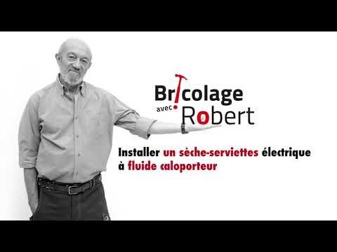 Installer Un Seche Serviettes Fluide Caloporteur Bricolage Avec Robert Youtube