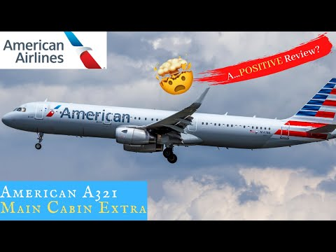 American Airlines MAIN CABIN EXTRA: Can I Give A Positive Review?