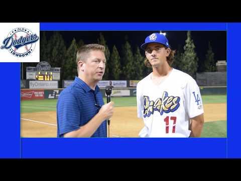 Post Game Chats - Dean Kremer - Dodgers Prospect