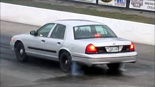 9 second Crown Vic