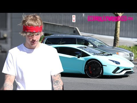 Justin Bieber Nearly Destroys His New Lamborghini From Not Knowing How To Drive It 3.5.18