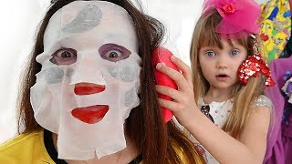 Pretend Play Beauty Salon and Makeup for little princess
