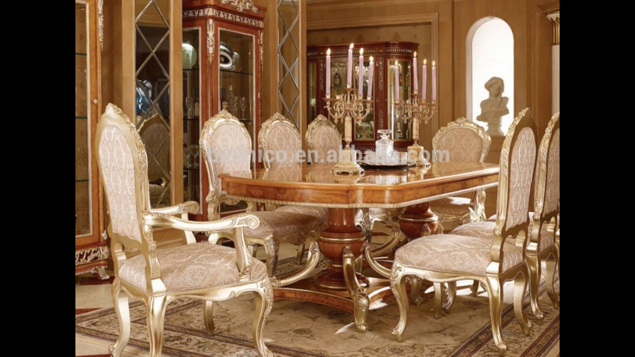 French Dining Rooms Youtube