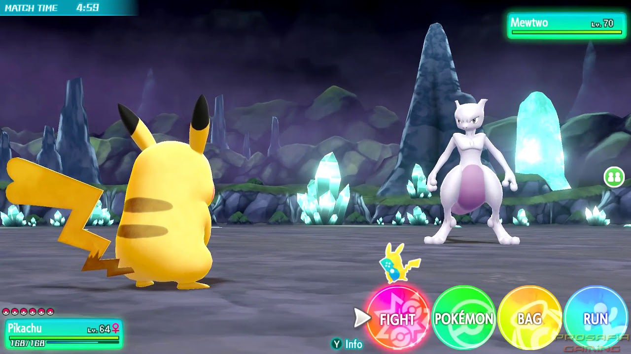 Pokemon Let S Go Pikachu Evoli Comment Capturer Mewtwo Youtube
