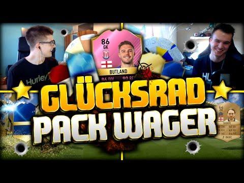 FIFA 17: FUTTIE BUTLAND GLÜCKSRAD PACK DISCARD WAGER MATCH! 😨💥🔥
