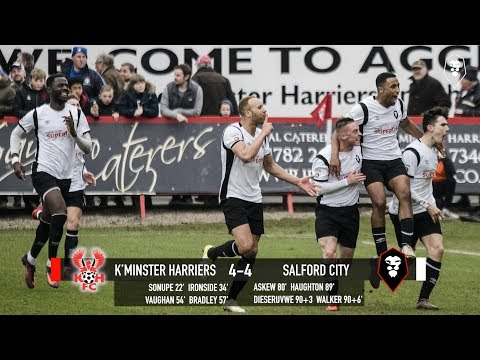 Kidderminster Harriers 4-4 Salford City - National League North 24/03