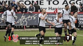 Kidderminster Harriers 4-4 Salford City - National League North 24/03
