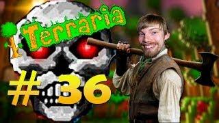 Terraria #36 - МЕГА АКУЛА, ФАРМ СТЕНЫ ПЛОТИ И СКЕЛЕТРОН ПРАЙМ