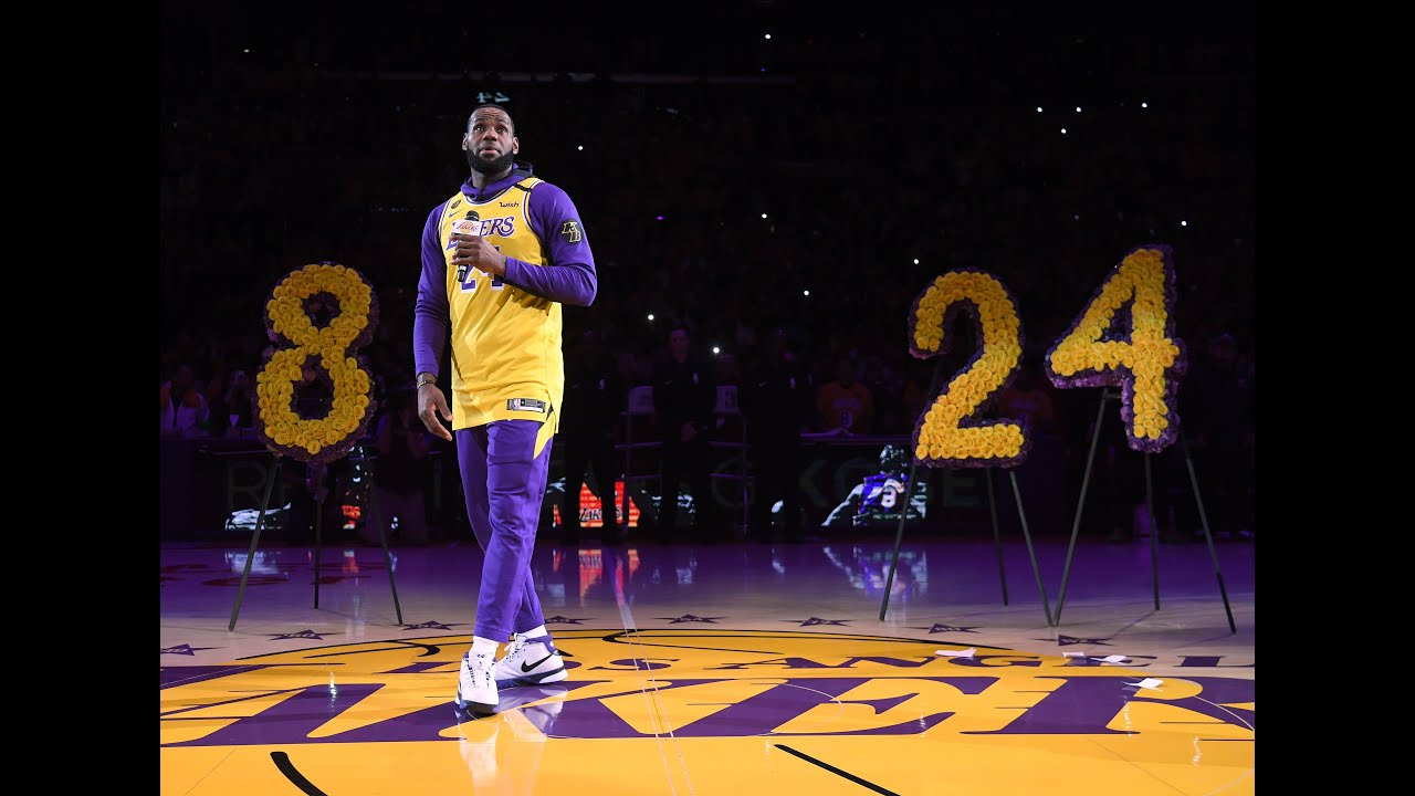 Lakers get championship rings with empty arena, full hearts   NBA.com