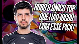 ROBO ESTA GUARDANDO O PICK SECRETO PARA OS PLAYOFFS!