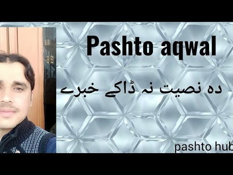 Pashto 5 Top Aqwal   Pashto Nasiyat Khabary   Pashto Aqwal E Zareen