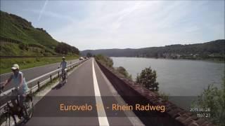 Eurovelo 15 – von Boppard nach Spay
