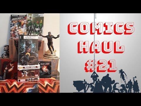 Comics Haul 21 : Du Badge à Secret Invasion et goodies