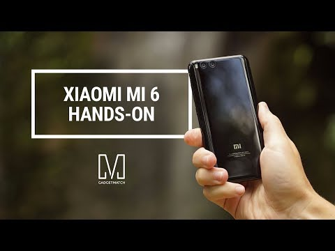Xiaomi Mi 6 Unboxing and Hands-on