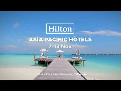 35% off Hilton Hotels in Asia Pacific!