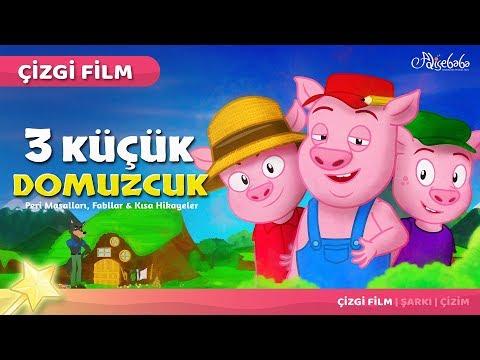 Adisebaba Çizgi Film Masallar - Bölüm 21: Üç Küçük Domuzcuk