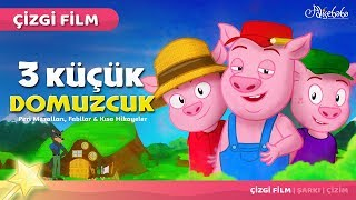 Üç Küçük Domuzcuk çizgi film masal 21 - Adisebaba Çizgi Film Masallar