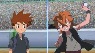 Pokemon Battle USUM: Gary Vs Cross (Kanto Ash's Rival Face Off!)