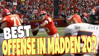TOP 5 BEST OFFENSE PLAYBOOKS TO USE IN MADDEN 20! PLUS THE MOST CHANGED BOOKS! OFFENSE TIPS & TRICKS