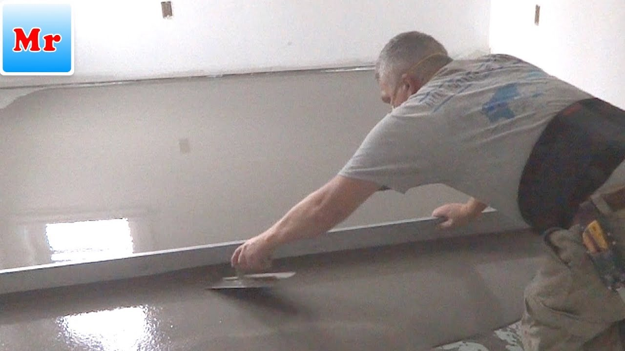 How to Make a Floor Leveling with Concrete Self Leveling