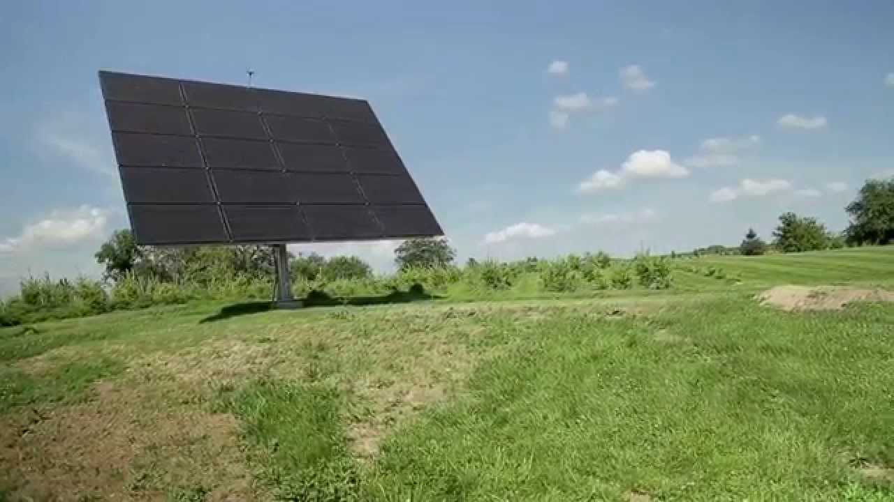AllEarth Solar Tracker Installation - A Homeowner Testimonial for Tick Tock  Energy, Inc