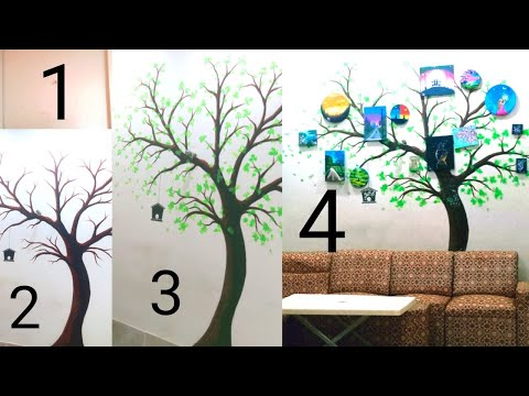 diy-tree-branch-wall-art-decor-ideas-|-best-wall-decoration-ideas-|-wall-art