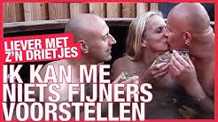 Helene heeft twee mannen || Afl. 1 Liever met z'n drietjes || LINDA.tv
